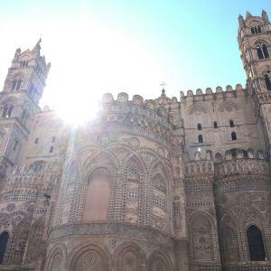 蒙雷阿莱大教堂旅游景点攻略图