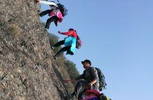 峭壁攀岩,征服永康笔架山