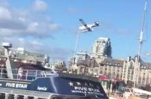 维多利亚岛上的水上飞机航班