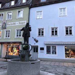 Reichenstraβe大街和城市喷泉旅游景点攻略图