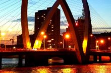 天池大桥夜色