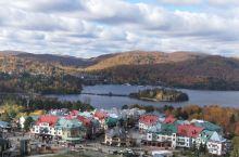 秋色加拿大翠湖山庄秋色