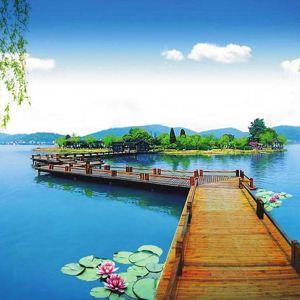 南北湖旅游景点攻略图