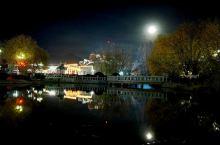拉萨的夜,月的圣洁