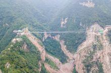 前山西省最长、最高的全透明高空玻璃桥