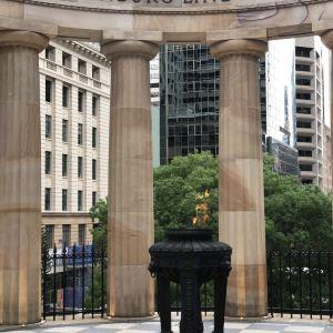澳新军团广场旅游景点攻略图