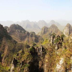大连天门山国家森林公园旅游景点攻略图