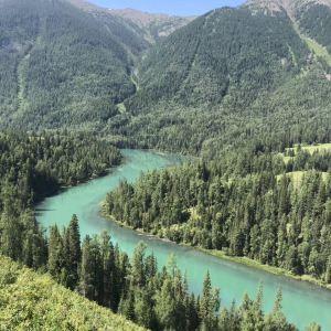 额尔齐斯河旅游景点攻略图