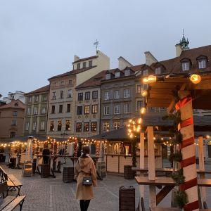 华沙老城旅游景点攻略图