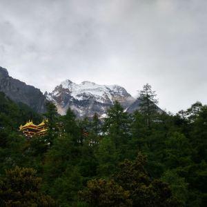 冲古寺旅游景点攻略图