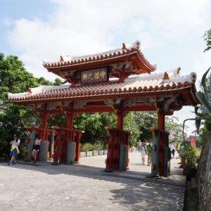 冲绳首里城公园旅游景点攻略图