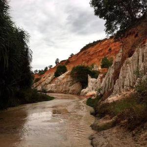 仙女溪旅游景点攻略图