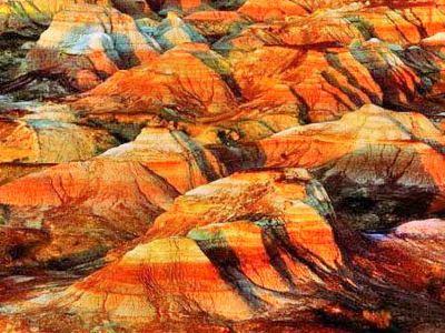 奇台火燒山