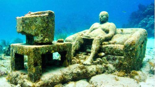坎昆水下博物館