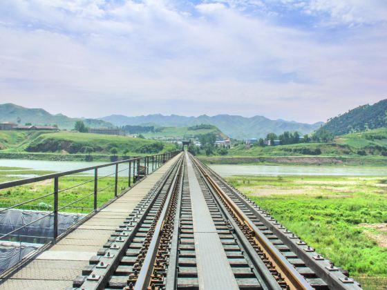 鴨綠江國境鐵路大橋