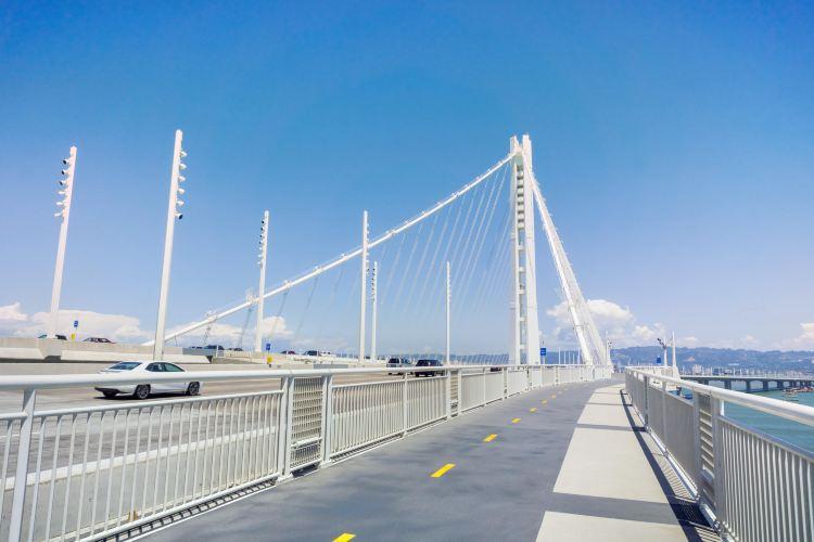 San Francisco-Oakland Bay Bridge bicycle and pedestrian path