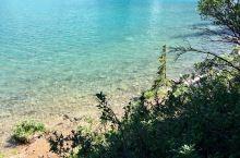 班夫国家公园里的各色湖泊