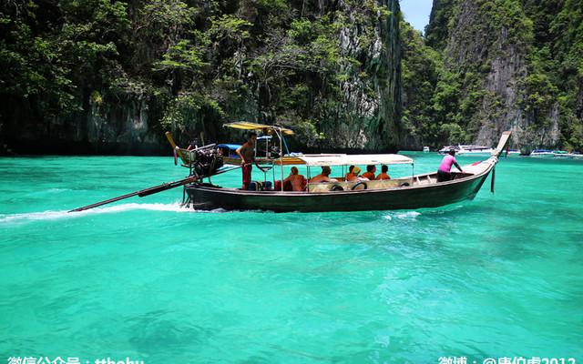 泰国:在美丽甲米普吉岛邂逅蔚蓝安达曼海,我们走得好浪漫哟。