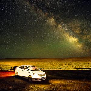 """门源游记图文-银河升起的地方,""""桃子""""就会生长—— 20年好基友青海追星之旅"""