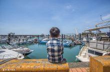 台北淡水的渔人码头