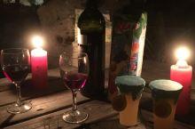 小松原温泉的烛光晚餐