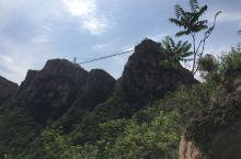 黄金寨-体会玻璃吊桥的惊险