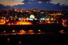 橄榄山的落日与夜景,世间若有十分美,九分在耶路撒冷