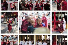 马哈伽纳扬僧院的千人僧饭