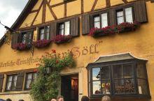 罗滕堡Zur holl餐厅很有特点