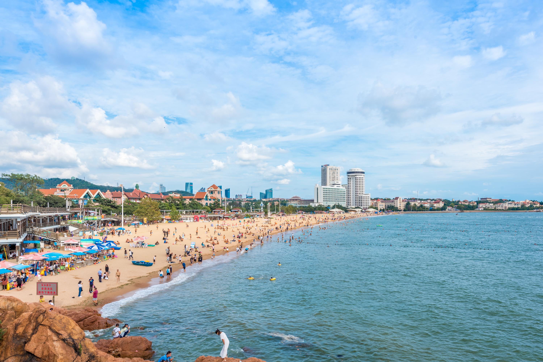 青岛海滨风景区旅游景点图片