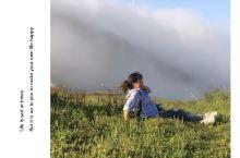 蓝天、白云……静谧的世界