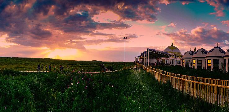 鄂尔多斯大草原