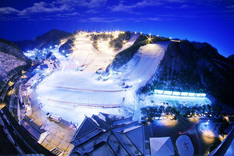 伊利希安江村度假村滑雪場2
