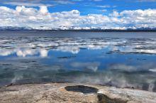 冰与火的完美融合,黄石西拇指温泉