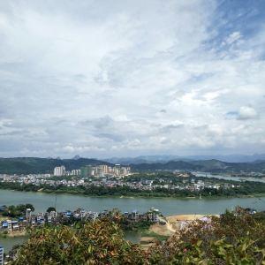 老子山旅游景点攻略图