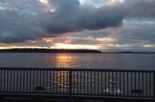 西雅图的海边摩天轮