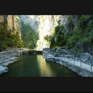 太行山大峡谷旅游景点攻略图