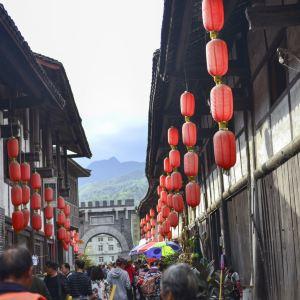 青木川古镇旅游景点攻略图