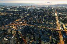 #网红打卡地#阿倍野HARUKAS观景台感受大阪的夜景