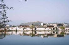 安徽画里宏村,一座水墨丹青的江南古村。