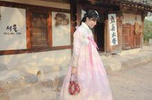 韩剧里的景福宫和北村韩屋村之韩服体验