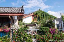 丽江网红民宿,每天都在花园中醒来