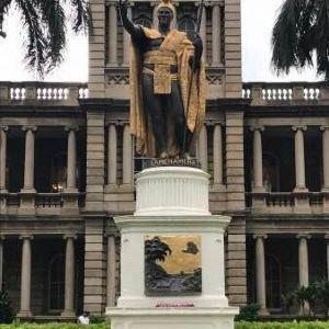 卡美哈美哈国王铜像旅游景点攻略图