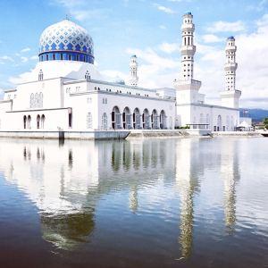 水上清真寺旅游景点攻略图