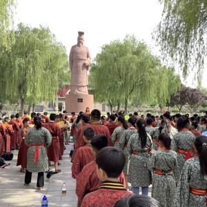 汤阴游记图文-边走边看,旅途拾零(二) ——游汤阴羑里城和岳王庙
