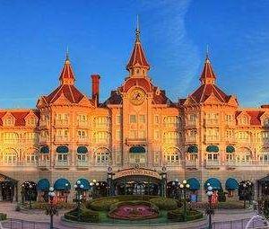 巴黎迪士尼乐园旅游景点攻略图