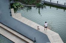 广州的世外桃源,空港文旅小镇,无界新居民宿的周边环境实拍图片。  当你走进这里,将穿越时间隧道看见百