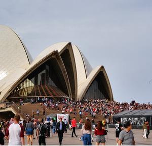 企鹅岛游记图文-2019秋 11天澳大利亚跟团游1 悉尼上