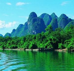 宜州区游记图文-宜州水上石林国家地质公园