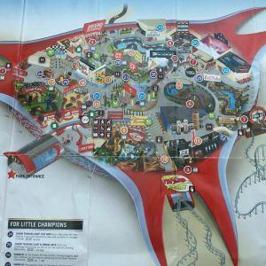 法拉利主题公园旅游景点攻略图